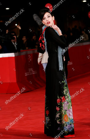 Aylin Prandi Actress Aylin Prandi poses on the red carpet during the 6th edition of the Rome International Film Festival in Rome