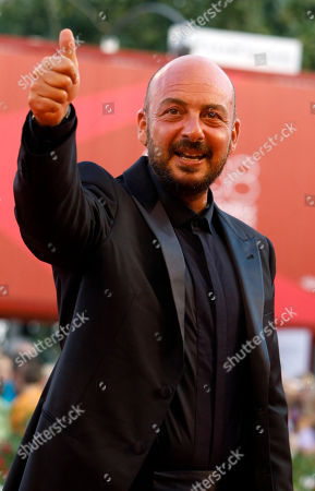 Emanuele Crialese Director Emanuele Crialese arrives at the award ceremony of the 68th edition of the Venice Film Festival in Venice, Italy