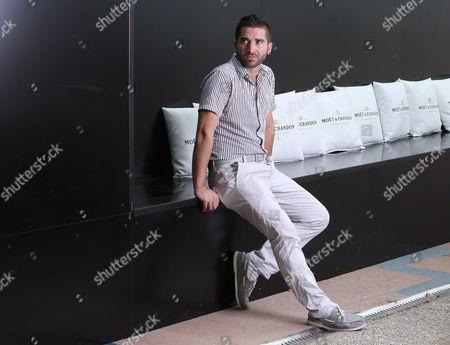 Editorial image of Italy Venice Film Festival Guy ...doin Portraits, Venice, Italy