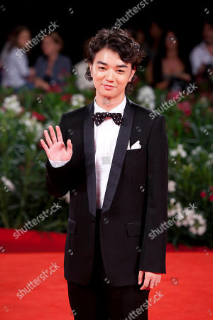Shota Sometani Actor Shota Sometani arrives for the premiere of the film Himizu at the 68th edition of the Venice Film Festival in Venice, Italy