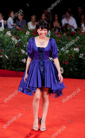 Fumi Nikaido Actress Fumi Nikaido arrives for the premiere of the film Himizu at the 68th edition of the Venice Film Festival in Venice, Italy