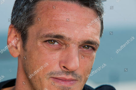 Stock Photo of Gabriele Spinelli Actor Gabriele Spinelli poses for a portrait at the 68th edition of the Venice Film Festival in Venice, Italy