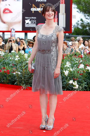 Anna Bellato Actress Anna Bellato arrives for the premiere of the film L'Ultimo Terrestre at the 68th edition of the Venice Film Festival in Venice, Italy