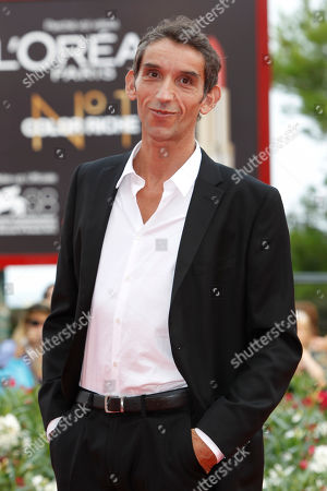 Gian Alfonso Pacinotti Director Gian Alfonso Pacinotti arrive for the premiere of the film L'Ultimo Terrestre at the 68th edition of the Venice Film Festival in Venice, Italy