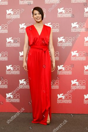 Myolie Wu Actress Myolie Wu poses during the photo call for the film Life Without Principle at the 68th edition of the Venice Film Festival in Venice, Italy