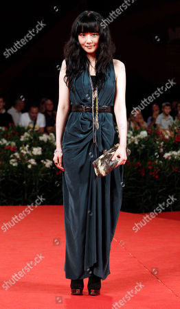 """Stephanie Che Actress Stephanie Che arrive for the screening of the film """"Life Without Principle"""" at the 68th edition of the Venice Film Festival in Venice, Italy"""