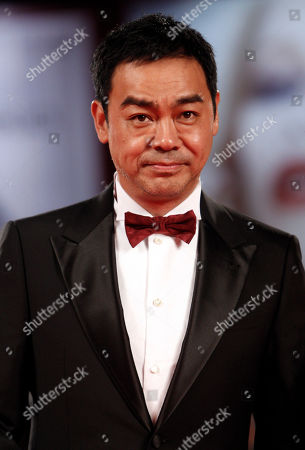 "Lau Ching Wan Actor Lau Ching Wan arrives for the screening of the film ""Life Without Principle"" at the 68th edition of the Venice Film Festival in Venice, Italy"