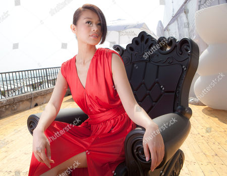 Editorial image of Italy Venice Film Festival Myolie Wu Portraits, Venice, Italy