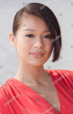 Myolie Wu Actress Myolie Wu poses for portraits after interviews for the film Life Without Principle at the 68th edition of the Venice Film Festival in Venice, Italy