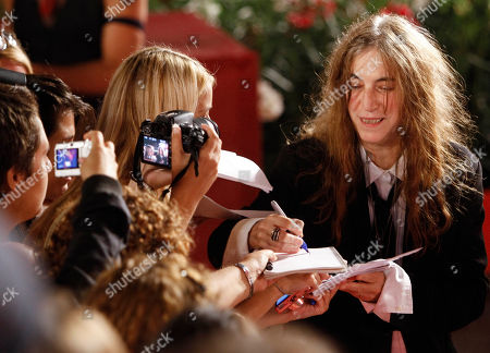 Patty Smith U.S. Singer Patty Smith signs autographs on the red carpet of the 68th edition of the Venice Film Festival in Venice, Italy