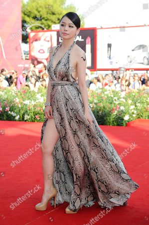 Vivian Hsu Actress Vivian Hsu arrives for the premiere of the film 'Seediq Bale (Warriors of the Rainbow) at the 68th edition of the Venice Film Festival in Venice, Italy