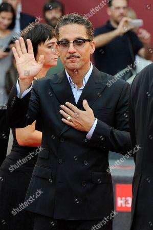 Giuseppe Fiorello Italian actor Giuseppe Fiorello arrives on the red carpet for the film Terraferma at the 68th edition of the Venice Film Festival in Venice, Italy