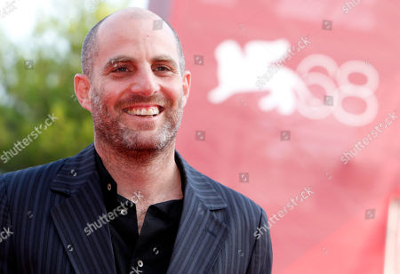 Director Eran Kolirin arrives for the screening of the movie The Exchange at the 68th edition of the Venice Film Festival in Venice, Italy