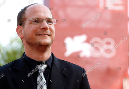 Stock Photo of Actor Rotem Keinan arrives for the screening of the movie The Exchange at the 68th edition of the Venice Film Festival in Venice, Italy
