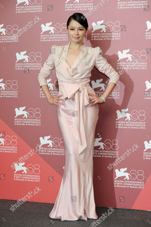 Vivian Hsu From left actor actress Vivian Hsu poses at the photo call for the film 'Seediq Bale (Warriors of the Rainbow)at the 68th edition of the Venice Film Festival in Venice, Italy