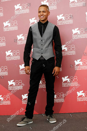 Stock Photo of Solomon Glave Actor Solomon Glave poses during the photo call of the movie Wuthering Heights at the 68th edition of the Venice Film Festival in Venice, Italy