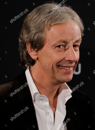 President of Vertu, Perry Oosting attends a presentation of a new smartphone in Milan, Tuesday, Oct.18, 2011