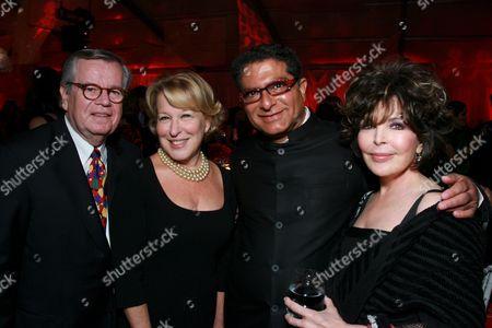 Robert Daly, Bette Midler, Deepak Chopra, Carole Bayer Sager