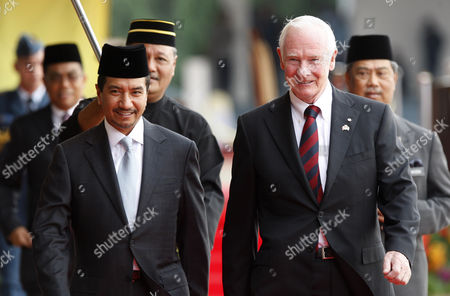 David Johnston, Mizan Zainal Abidin Governor General of Canada David Johnston, right, walks with Malaysia's King Sultan Mizan Zainal Abidin during a welcoming ceremony at the Parliament Square in Kuala Lumpur, Malaysia, . Johnston is on a four-day state visit to Malaysia