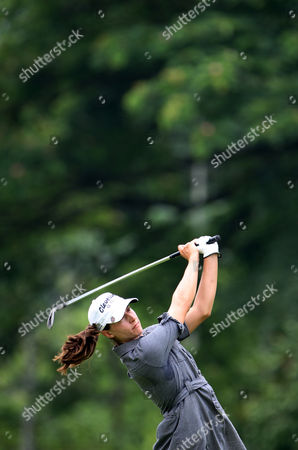 Paige Mackenzie Paige Mackenzie of the United States hits a shot on the 9th hole during the second round of the LPGA Malaysia golf tournament at Kuala Lumpur Golf and Country Club in Kuala Lumpur, Malaysia