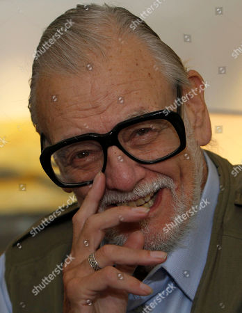 George A. Romero Film director George A. Romero talks during an interview in Mexico City, . Romero is in Mexico City as the main guest of the Hallow Fest 2011, which takes place Oct. 22, 23
