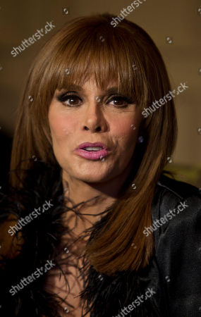 Lucia Mendez Mexican actress and singer Lucia Mendez speaks during a press conference in Mexico City, . Mendez suffered some complications after undergoing surgery due to peritonitis but said she is doing well now