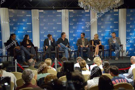 Zineb Oukach, Jake Gyllenhaall, Gavin Hood, Omar Metwally, Reese Witherspoon and Peter Sarsgaard
