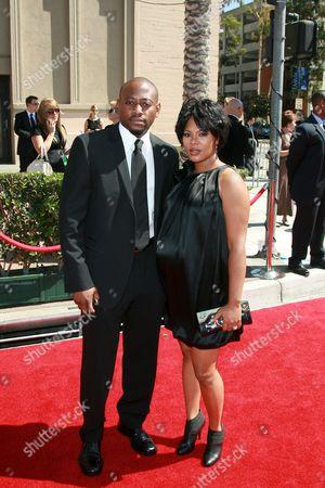 Omar Epps and Keisha Spivey