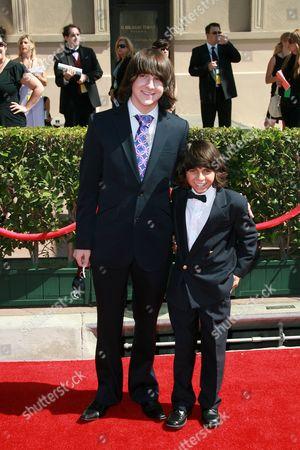 Mitchel Musso and Mason Musso