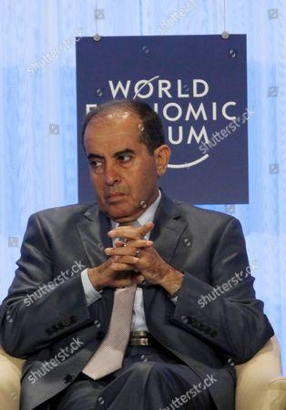 Mahmoud Jibril Mahmoud Jibril, Prime Minister of Libya's interim government, speaking during the World Economic Forum, at the Dead Sea, 34 Miles (55 Kilometers) Southeast Amman, Jordan
