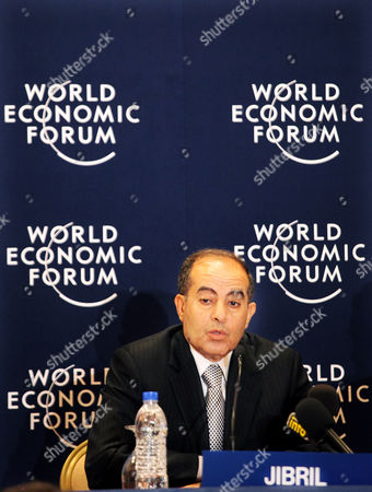 Mahmoud Jibril Mahmoud Jibril, prime minister of Libya's interim government speaks during the World Economic Forum meeting in the King Hussein Bin Talal convention center at the Dead Sea, 34 miles (55 kilometers) southeast of Amman, Jordan