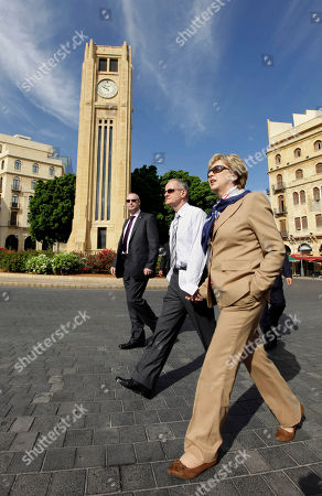 Mary McAleese, Martin McAleese Irish President Mary McAleese, right, with her husband Sen. Martin McAleese, center, walk during a tour in Beirut, Lebanon, . McAlees arrived in Lebanon on Friday on a three-day visit to meet with Lebanese officials and to check on Irish soldiers serving with U.N. peacekeeping unit in south Lebanon