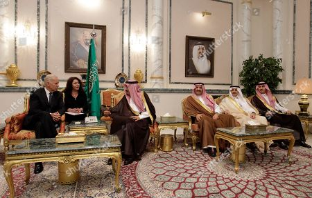Prince Khaled Bin Sultan, Prince Fahd bin Sultan, Prince Faisal bin Sultan, Joe Biden, Prince Salman bin Abdel-Aziz U.S. Vice President Joe Biden, left, offers his condolences to Prince Salman bin Abdel-Aziz, brother of Saudi King and Riyadh Governor, upon the death of his brother Saudi Crown Prince Sultan bin Abdul-Aziz Al Saud, at Prince Sultan palace in Riyadh, Saudi Arabia, . Prince Sultan's sons, Prince Khaled bin Sultan, 3rd right; Prince Fahd bin Sultan, 2nd right and Prince Faisal bin Sultan, right; sit under a picture of their father late Saudi Crown Prince Sultan bin Abdel-Aziz . Prince Sultan died Saturday while undergoing treatment for an illness in New York