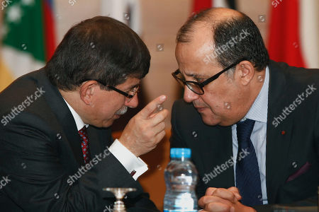 Editorial picture of Morocco Arab League Syria, Rabat, Morocco