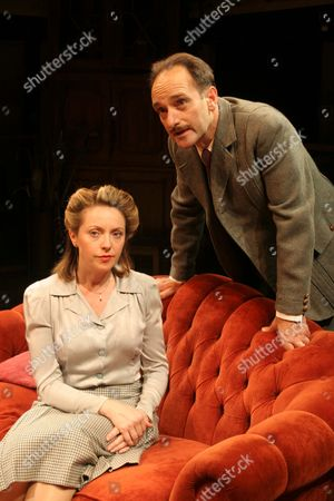 Karen Ascoe as Diana Wentworth and Mark Tandy as Michael Wentworth