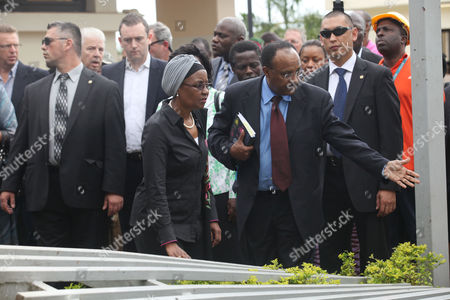"""United Nations Deputy Secretary-General Dr. Asha-Rose Migiro arrives to inspect the damage of the United Nation's office after a car bombing on Friday in Abuja, Nigeria which killed at least 19 people. Nigeria's president says his government will bring terrorism """"under control"""