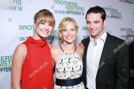 Emily Van Camp, Sarah Jane Morris and Matthew Rhys