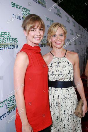 Emily Van Camp and Sarah Jane Morris