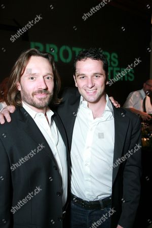 John Pyper-Ferguson and Matthew Rhys