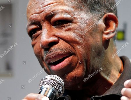 "Ben E. King Singer Ben E. King speaks during a news conference in Tokyo. King, singer of such classics as ""Stand By Me,"" ""There Goes My Baby"" and ""Spanish Harlem,"" died, publicist Phil Brown told The Associated Press. He was 76"