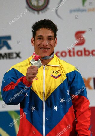 Editorial picture of Pan American Games Weightlifting, Guadalajara, Mexico