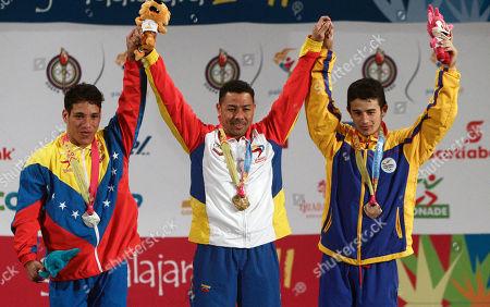 Editorial image of Pan American Games Weightlifting, Guadalajara, Mexico