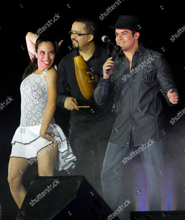 Jerry Rivera Puerto Rican salsa singer Jerry Rivera, right, performs during the opening ceremony of the Baseball World Cup in Panama City
