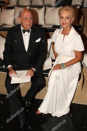 Reinaldo Herrera Guevara and Carolina Herrera