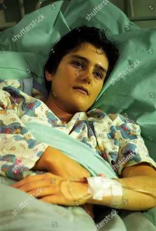 Stock Image of 'Medics' - 1995 Following an unsuccessful transplant, Julie Coleman [Judy Brooke] has to face the fact that her prognosis is not good.