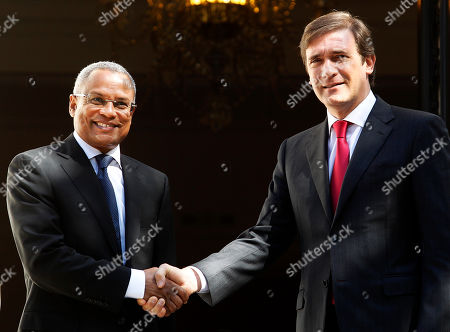 Jose Maria Neves, Pedro Passos Coelho Portugal's Prime Minister Pedro Passos Coelho, right, shakes hands with his Cape Verde's counterpart Jose Maria Neves at the premier's official resident Sao Bento Palace in Lisbon