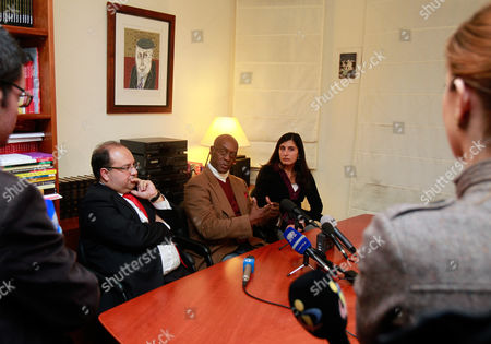 George Wright American fugitive George Wright, center, sitting between his lawyers Manuel Luis Ferreira, center left, and Sofia Brito, during a news conference at his lawyers' office, in Lisbon. A Portuguese court on Thursday denied a U.S. request for the extradition of Wright, now a Portuguese citizen. Wright spent seven years in a U.S. prison for a 1962 murder in New Jersey before escaping in 1970, and was on the run for 41 years until his arrest in Portugal in September 2011. Wright has been under house arrest for the past four weeks at his home near Lisbon, wearing an electronic tag that monitors his movements