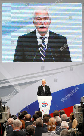 Boris Gryzlov State Duma Speaker Boris Gryzlov, center, speaks during a United Russia party's congress in Moscow on . Prime Minister Vladimir Putin has said that Russia's government should listen to human rights activists and make sure the courts provide equal protection to all citizens under the law