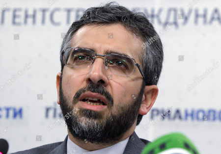 Ali Baghiri, Deputy secretary General of the Iranian Supreme National Security Council speaks at a news conference in Moscow, . Russian and Iranian officials have discussed building more reactors in the past, but the latest Russia's nuclear chief Sergei Kiriyenko statement comes amid Western calls for sanctions on Tehran over a U.N. nuclear watchdog report detailing suspected atomic weapons-related advances