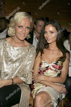 Karen Craig and Georgina Chapman, Marchesa Designers